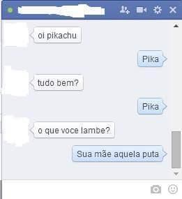 Pikachu = sua mãe - meme