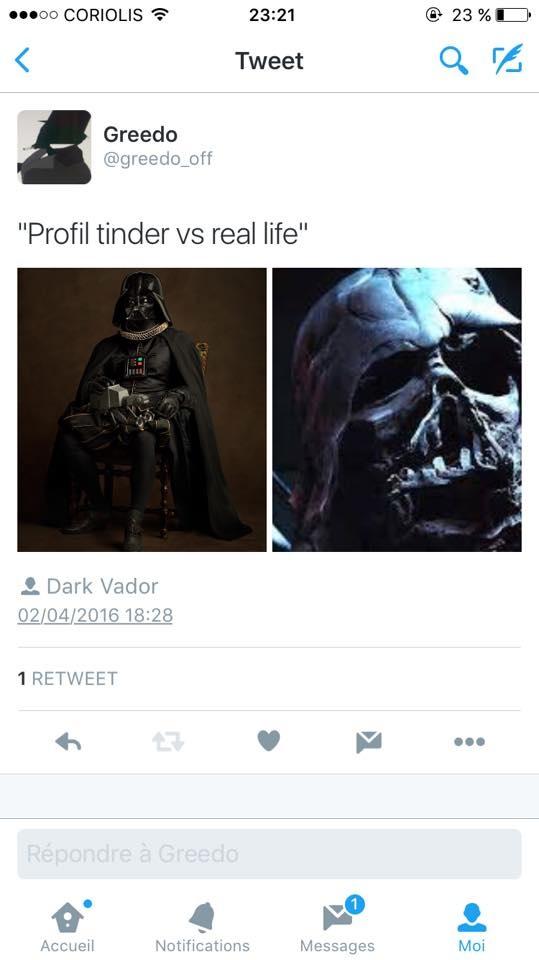 Tinder  - meme