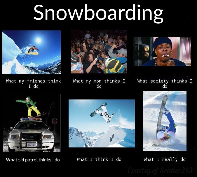 snowboard is love, snowboard is life - meme