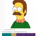 Flanders is cumming for you