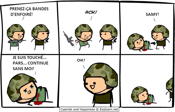 Enflure a 100% Cyanide and happiness #14 - meme