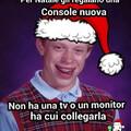 E con questo meme del cazzo vi auguro buon Natale!