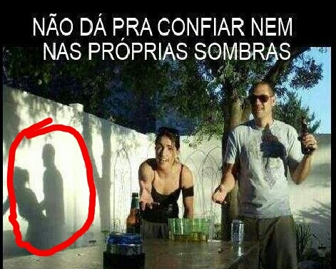 Sombras... - meme