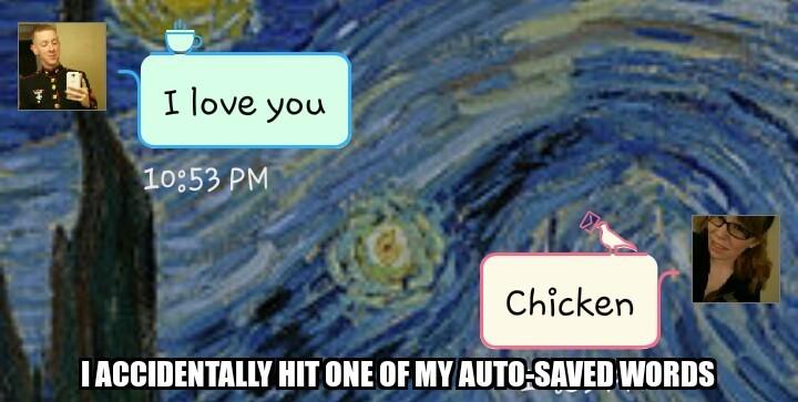 chicken is boss, chicken is life - meme