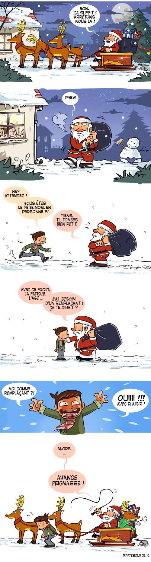 Le Père Noël est une ordure - meme