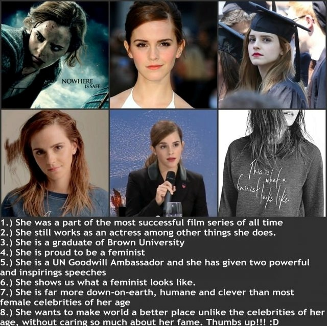 Why Emma Watson shouldn't be so underrated - meme