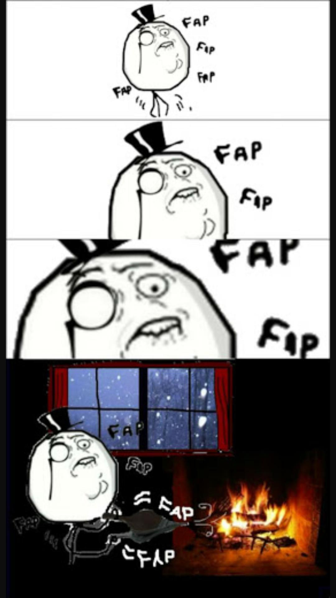 Fap like a sir - meme