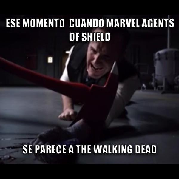 Agents of shield final de temporada 21x2 Inhumans - meme