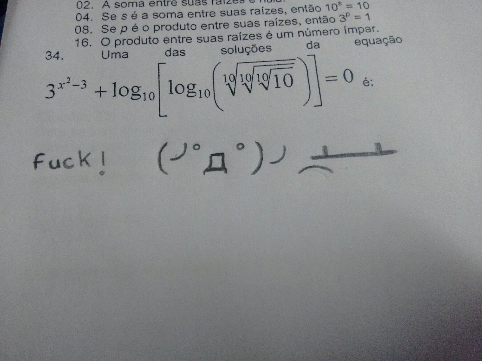 Matematica fudendo nossas vidas desde sempre - meme