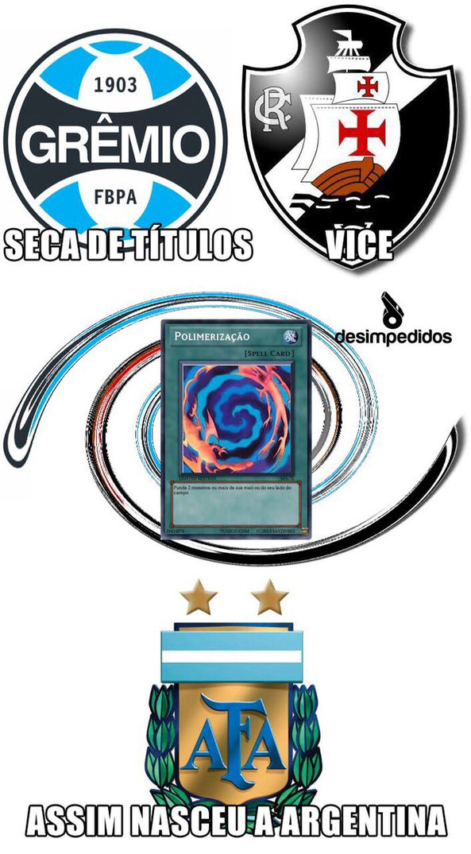 Argentina vice de novo! - meme