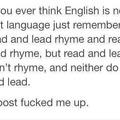 OMFG WHY ENGLISH °facepalm°