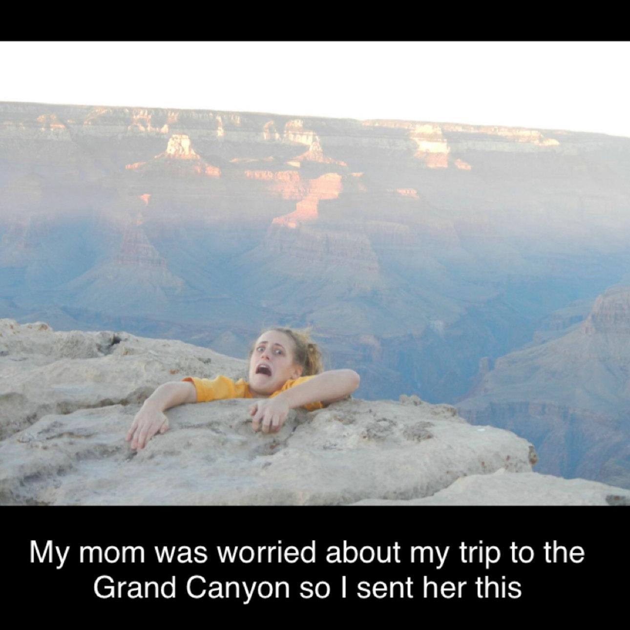 Canyon believe it - meme
