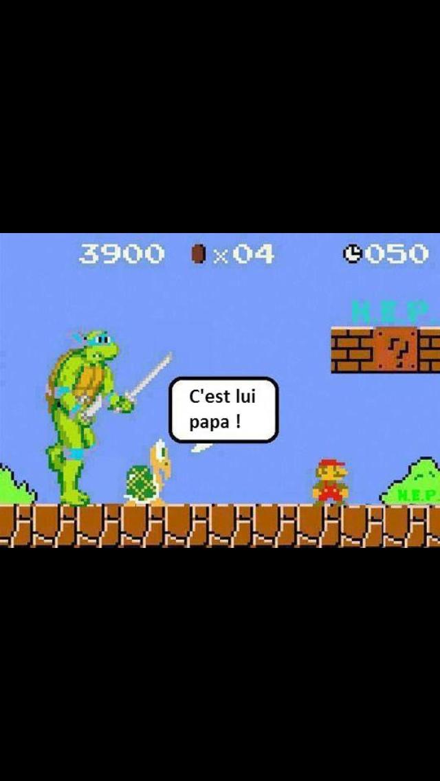 Méchant Mario - meme