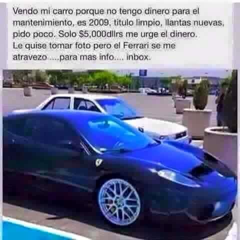 Mi carro - meme