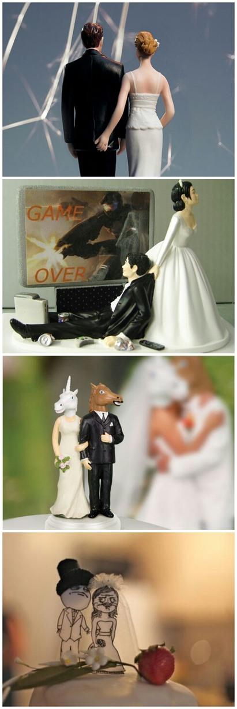 Wedding cake toppers - meme
