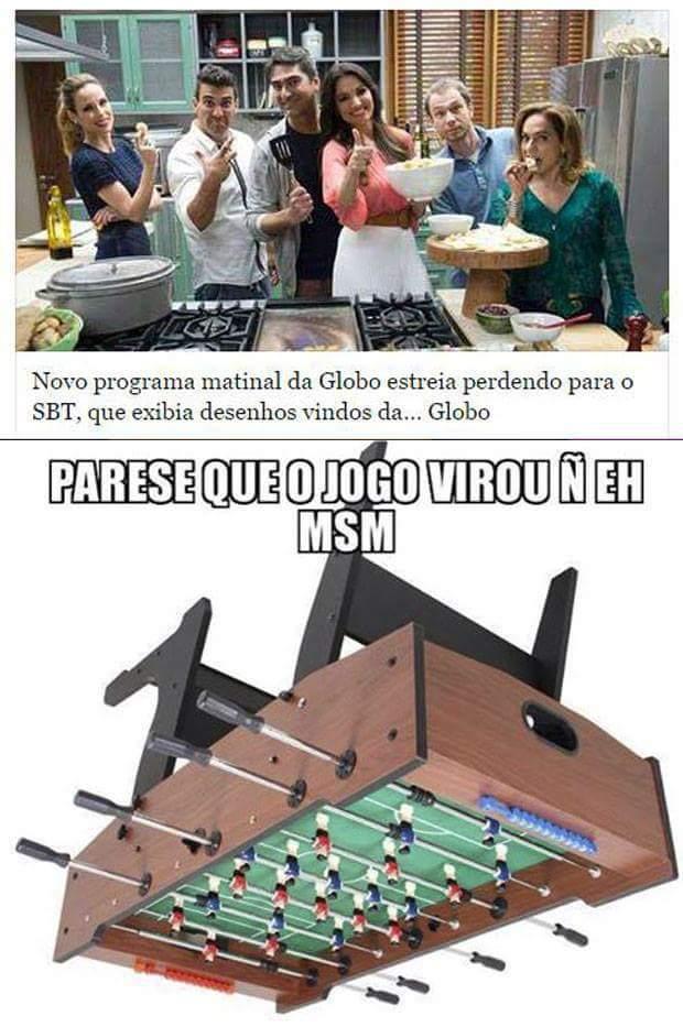 Globo is dead - meme