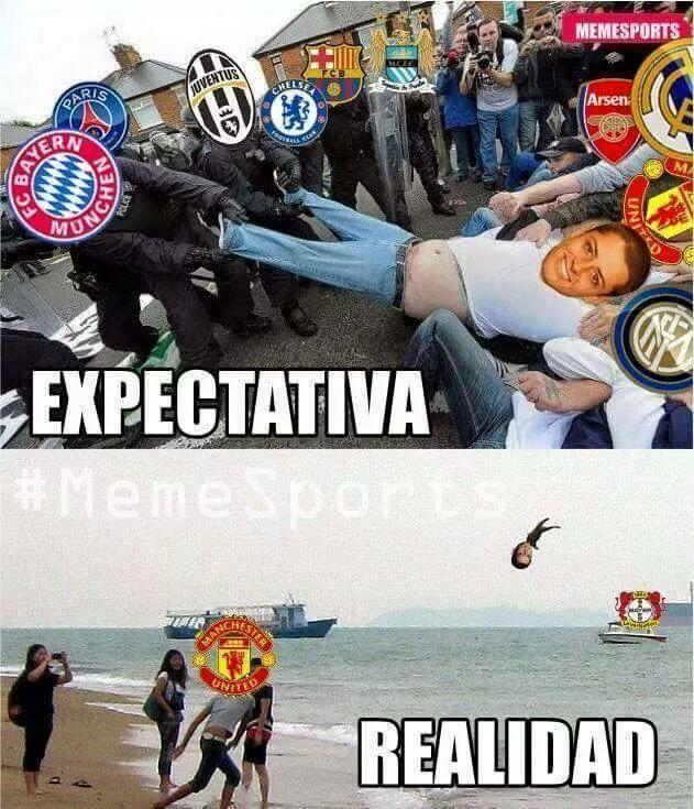 La realidad de Chicharito, la superestrella del fútbol - meme