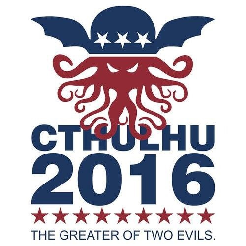 fuck Trump... CTHULHU FOR PRESIDENT! - meme