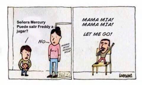 la verdad sobre un himno del rock... - meme
