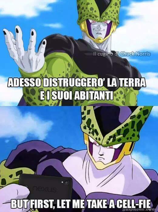 Cell.. - meme