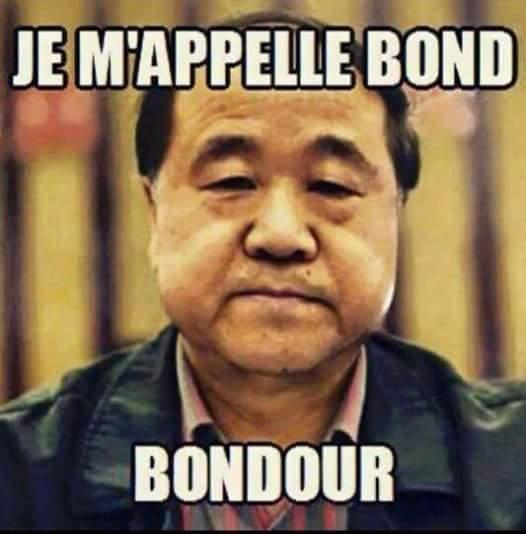 Bondour comment da ba - meme