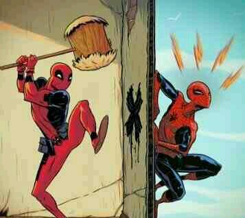 Aaaaah DEADPOOL! - meme