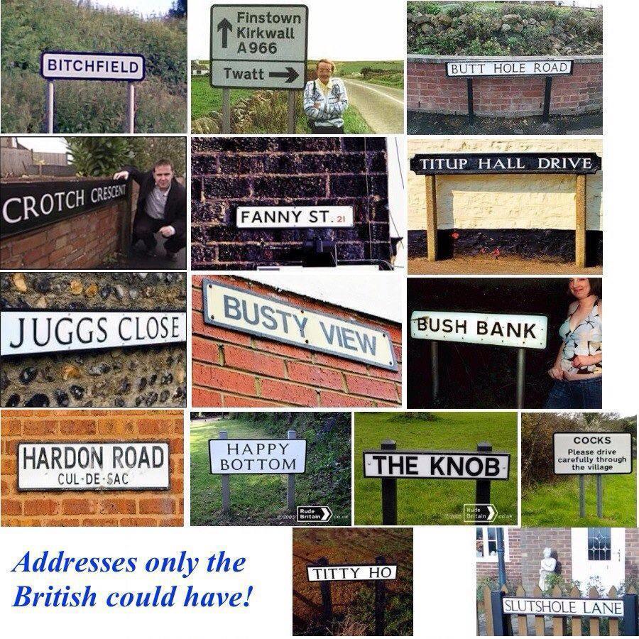British Signs - meme