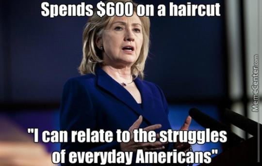 Hilary clitin - meme