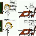 Why math...