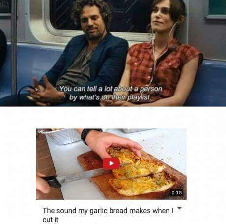 8th comment gets unlimited garlic bread - meme