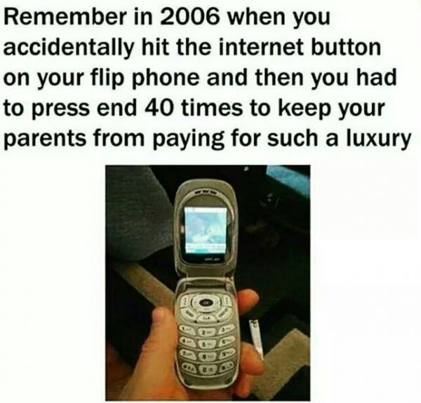 Old times - meme