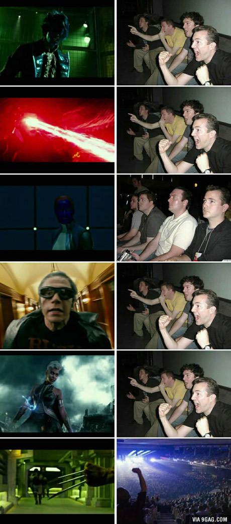 Reacciones en el trailer de X-Men Apocalypse - meme