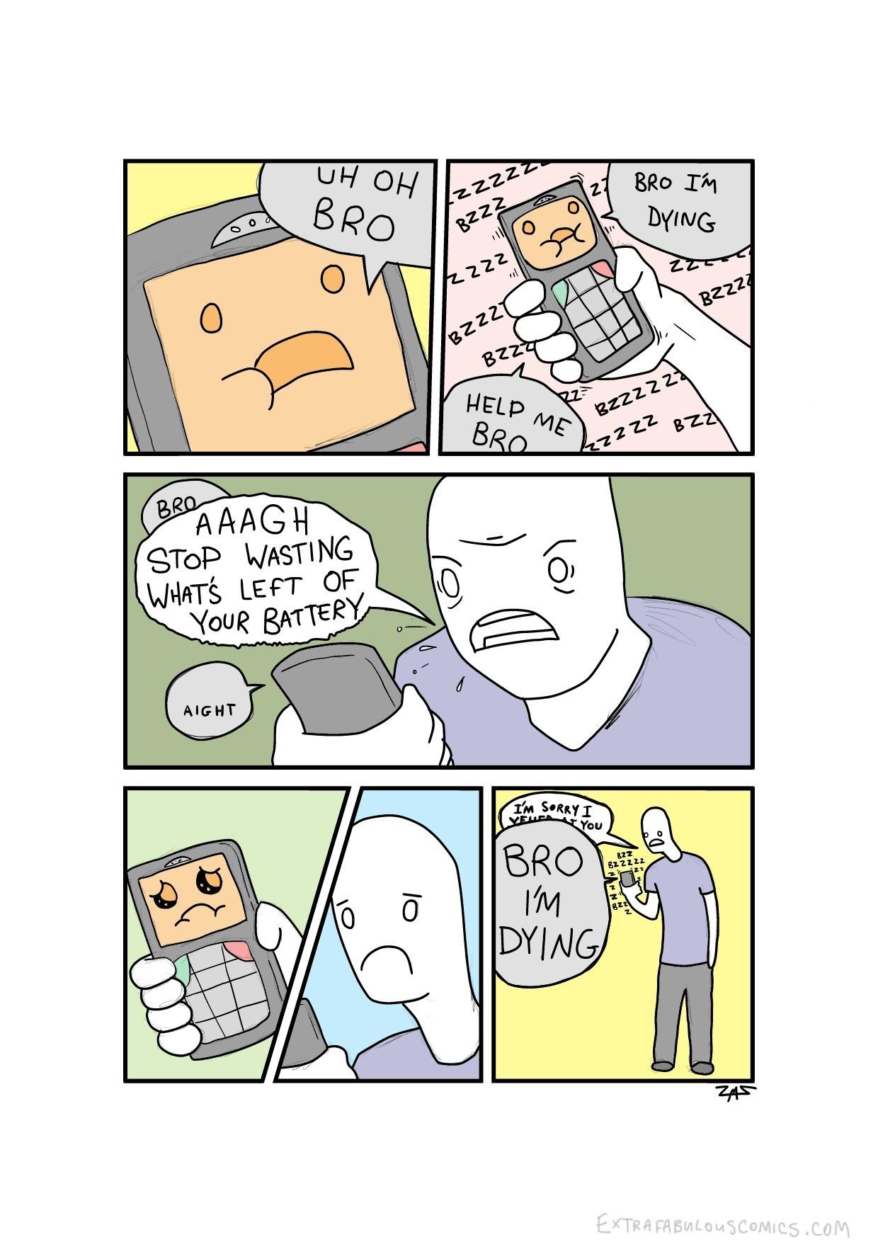Phone logic - meme