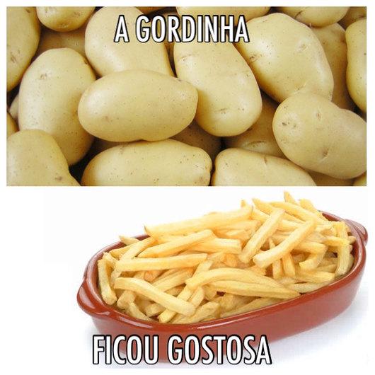 Evolução tipo batata! - meme