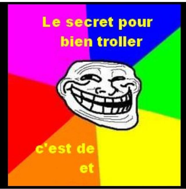 Le secret est de ..... - meme