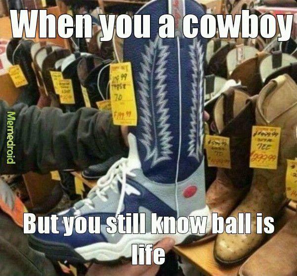 Ball is life - meme