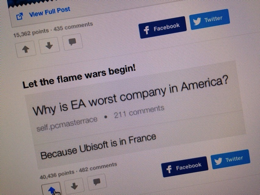 let the flame wars begin - meme