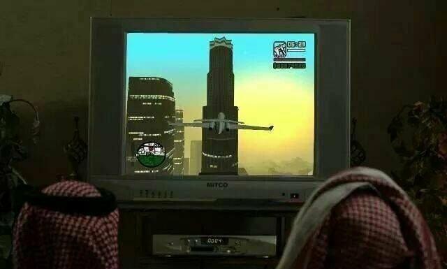 Grand Terrorista Auto: Nove de Setembro - meme