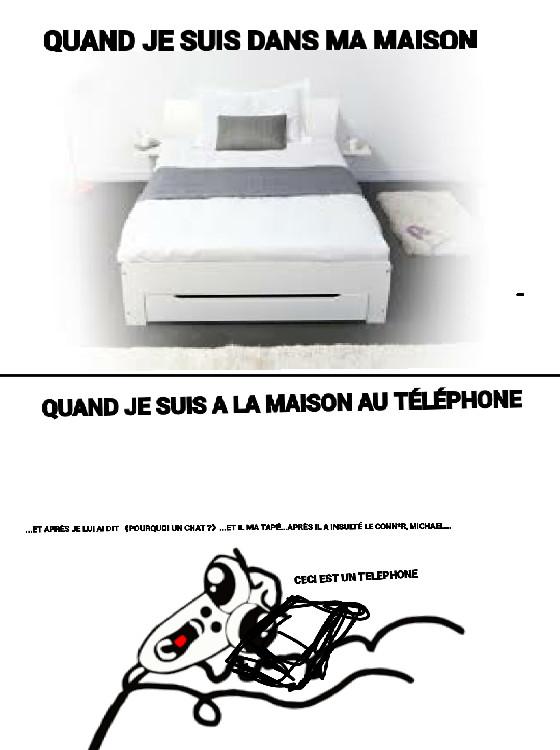 Au téléphone ! - meme