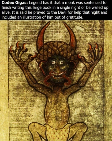 The Devil's Bible... - meme