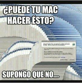 Apple muerete de envidia - meme