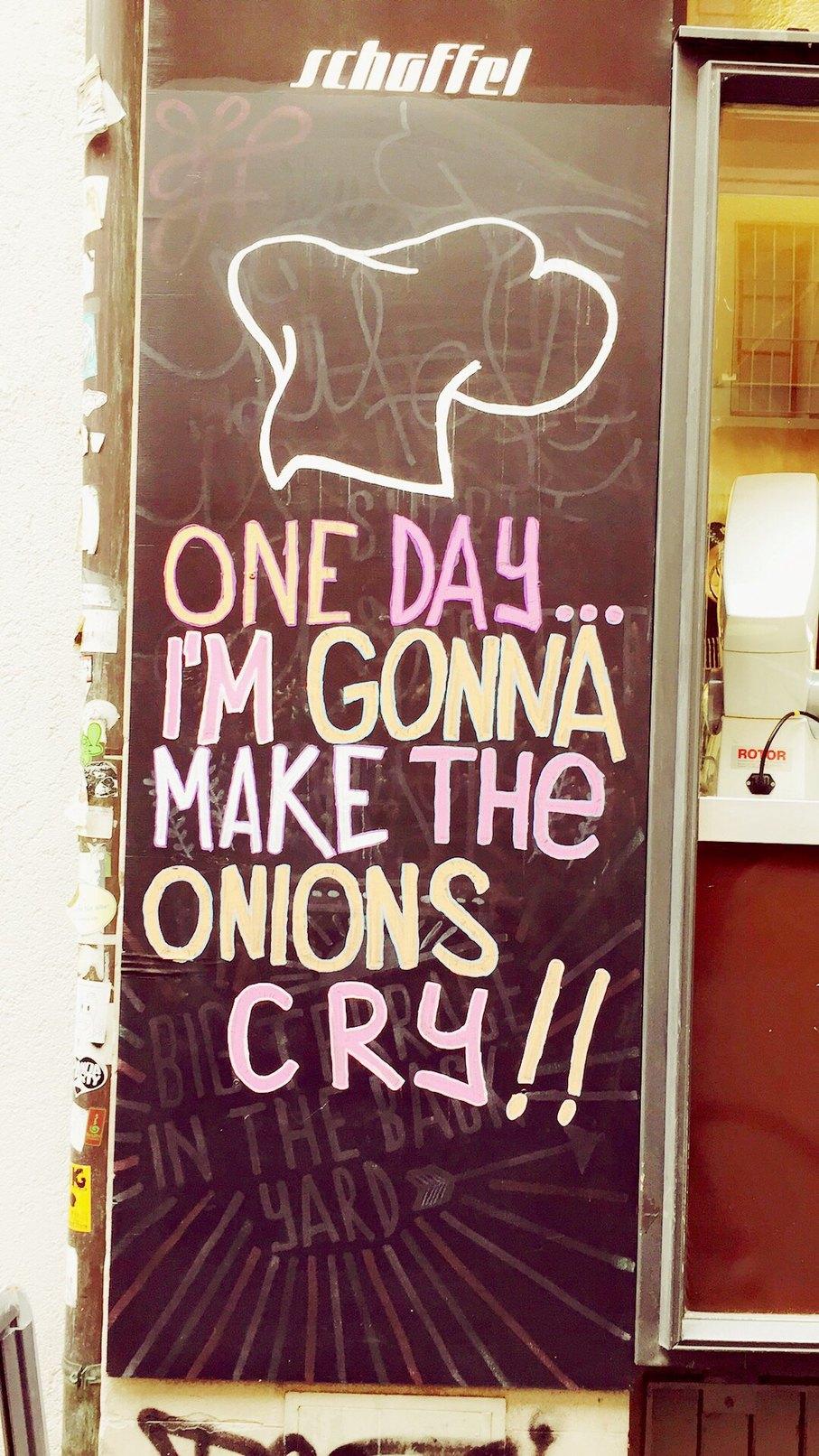 Saw this around a soup kitchen in Zurich - meme
