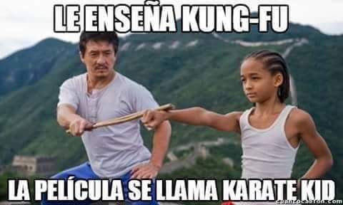 Karate Kid - meme