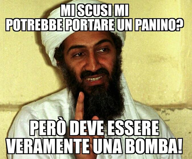 Il panino bomba - meme