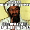 Il panino bomba