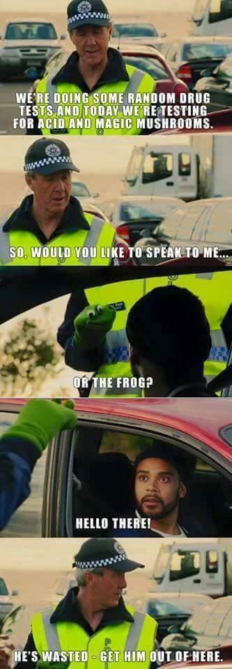 Australian police - meme