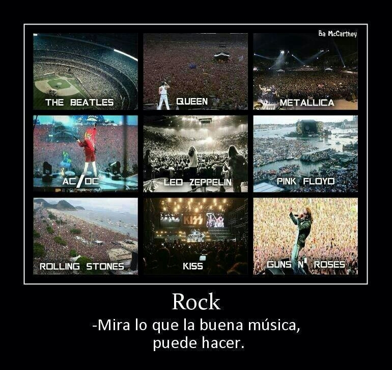 Rock metal= :) - meme