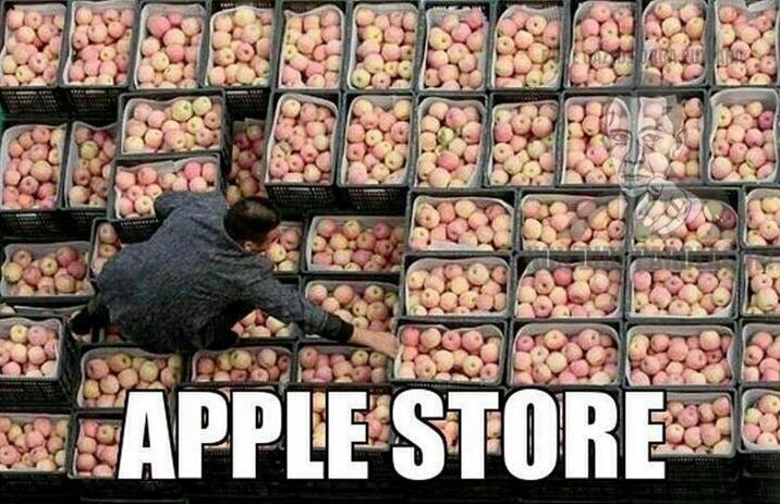 Apple Store  - meme