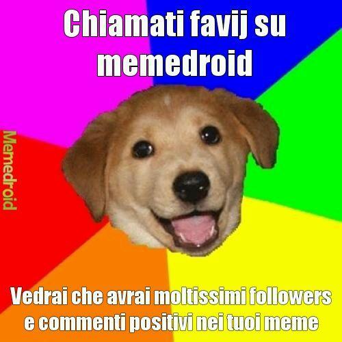 Raggiungiamo i 50 followers e mi unirò ad odiare favij - meme