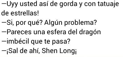Sal de ahi Shen Long! - meme